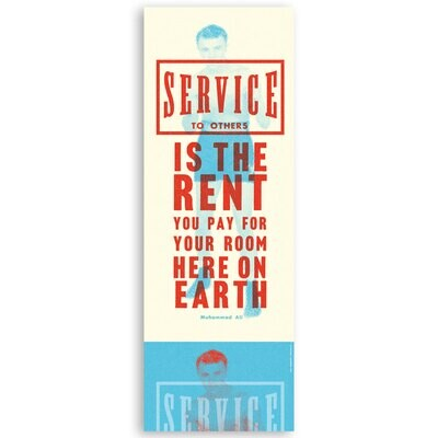 Service to others …