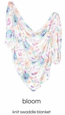 Bloom Swaddle Blanket Copper Pearl
