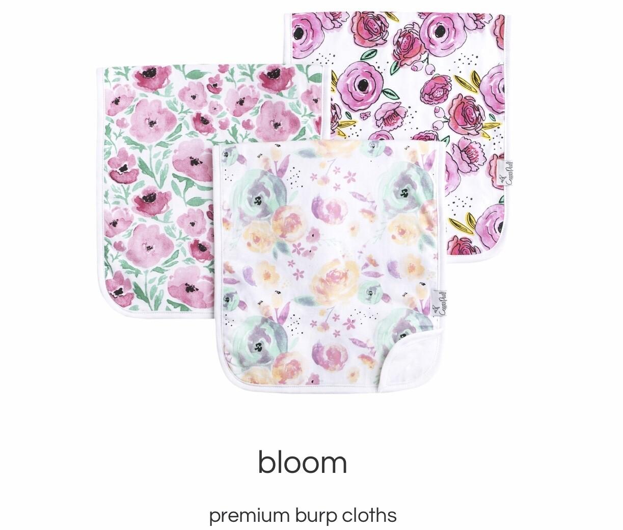 Bloom Burp Cloth Set