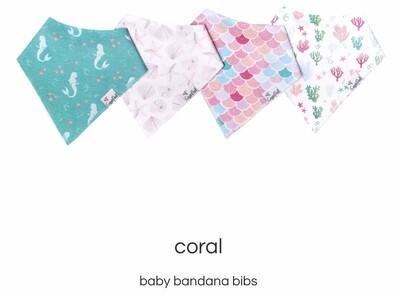 Coral Bib Set