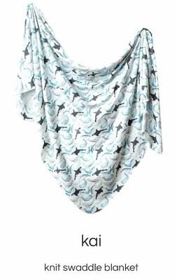 Kai Swaddle Blanket Copper Pearl