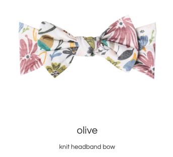 Olive Headband Copper Pearl