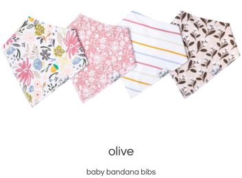 Olive Bib Set