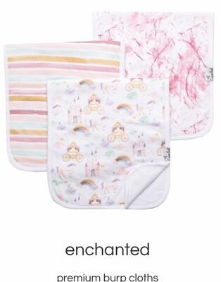 Enchanted Burp Cloth Set