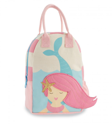 Canvas Backpack - Mermaid