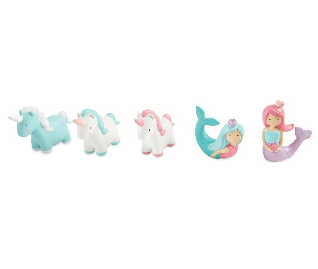 Mermaid & Unicorn Bath Toy