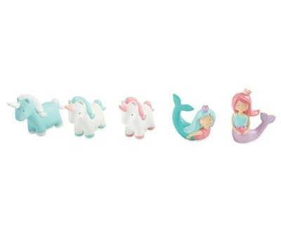 Mermaid & Unicorn Bath Toy