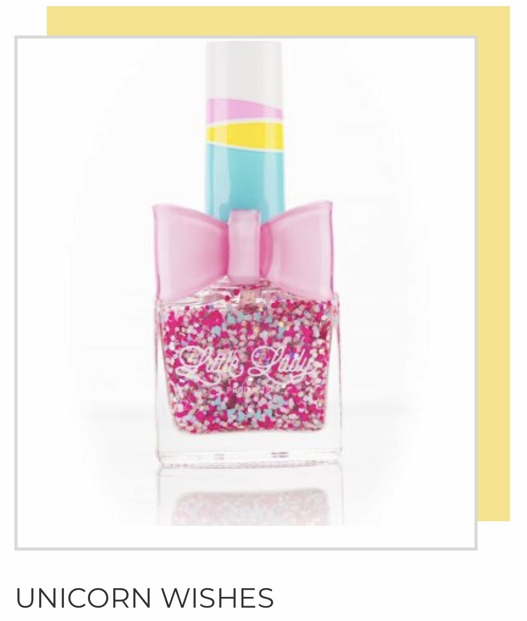 Unicorn Wishes Glitter Nail Polish