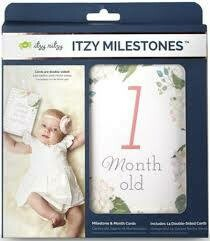 Milestone Cards - Floral