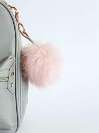 Blush Pouf Keychain