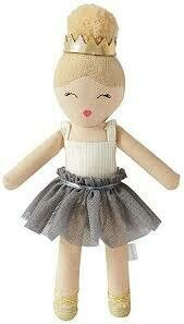 Ballerina Rattle Gray Skirt