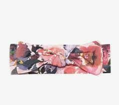 Dusk Rose infant Headband