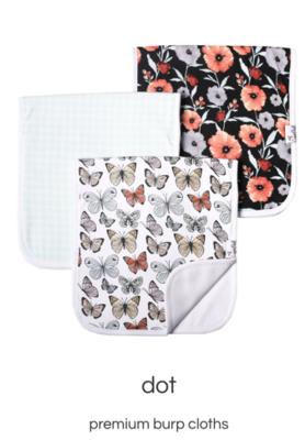 Dot Burp Cloth Set