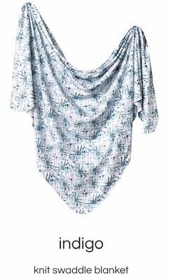 Indigo Swaddle Blanket Copper Pearl