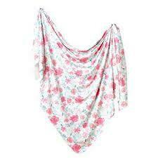 June Swaddle Blanket Copper Pearl