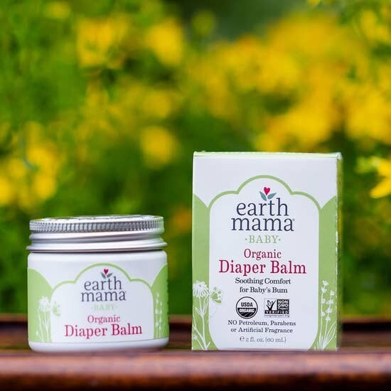 Organic Diaper Balm (2 fl. oz.)