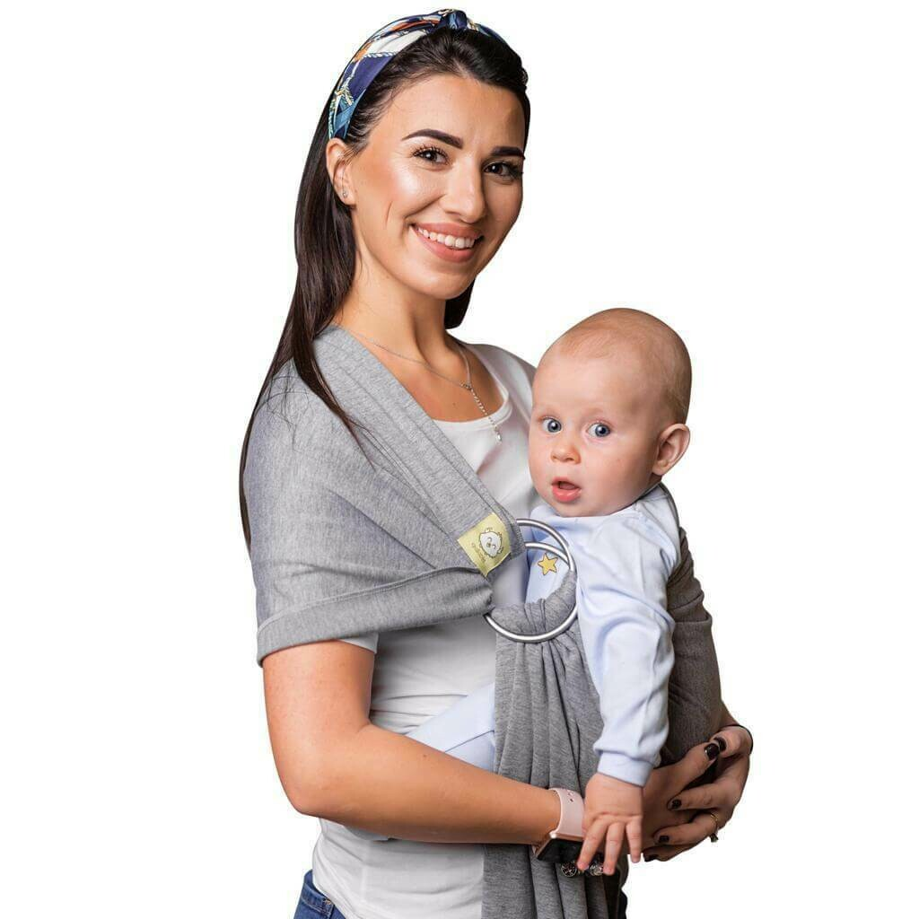 Ring Sling Carrier Classic Gray