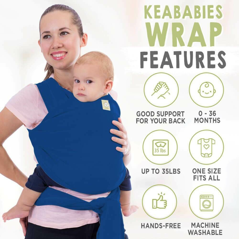 Wrap Carrier Royal Blue