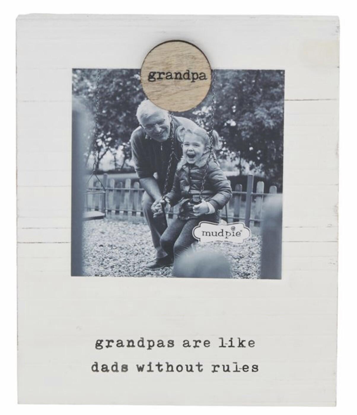 Grandpa Magnetic Frame