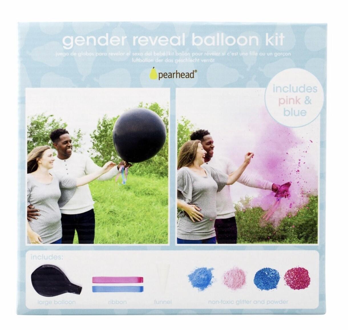 Gender Reveal Balloon Kit By Pearhead