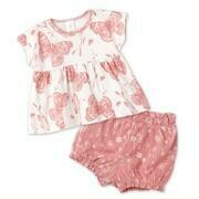 Butterflies Top & Bottom Set 3T