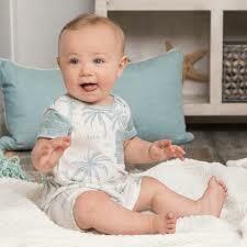 Aloha Boy's Shortie Romper 6-12 months