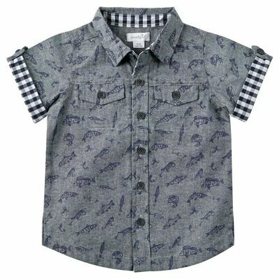Fishing Resort Shirt 12-18 months