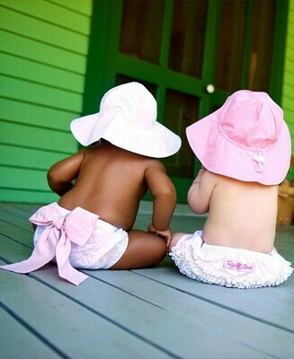 Pink Sun Hat 6-12 months