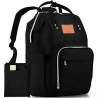 Diaper Bag - Trendy Black KeaBabies