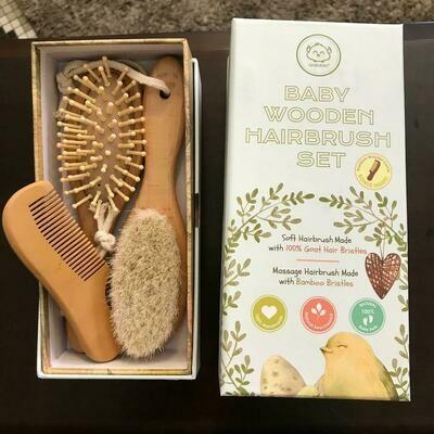 Baby Hairbrush & Comb 3 pc. Set