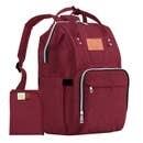 Diaper Bag Classic - Wine Red