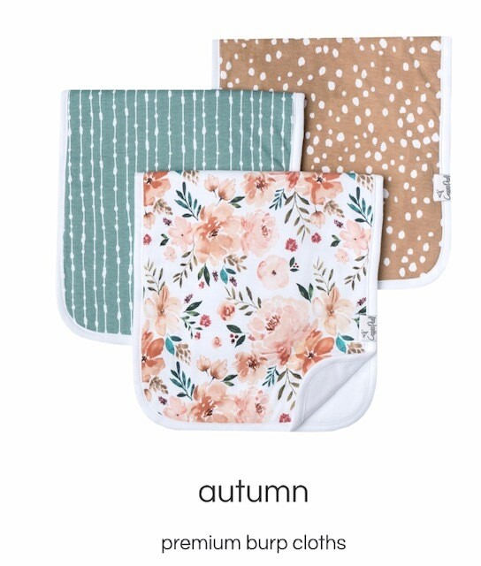 Autumn Burp Cloth Set