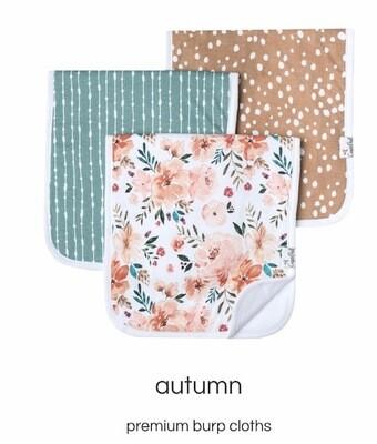 Autumn Burp Cloth Set