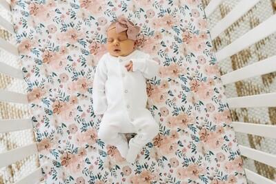 Autumn Premium Crib Sheet