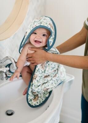 Bear Bath Towel - Copper Pearl