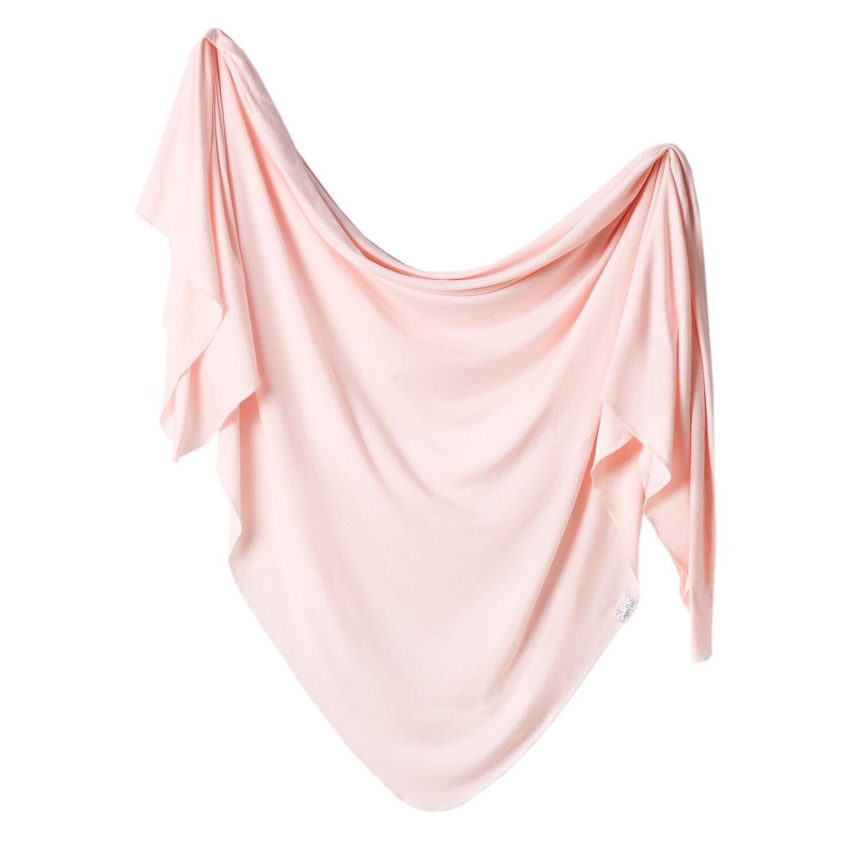Blush Swaddle Blanket Copper Pearl