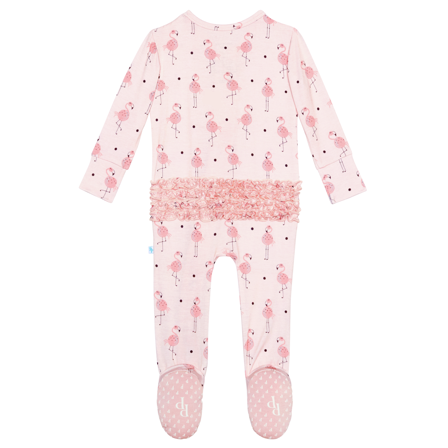 Frida Zipper 1 pc Footie Newborn