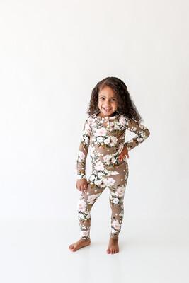 Leona Long Slv Henley Loungewear 4T