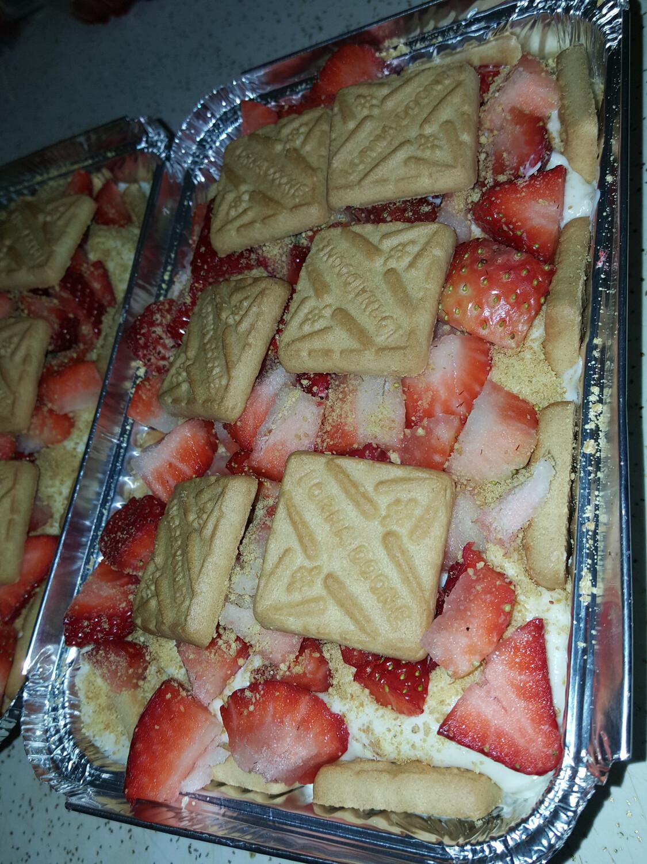 Strawberry Cheesecake Pan