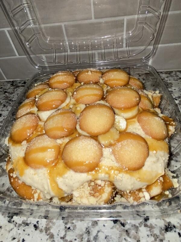 Banana Pudding Cheesecake Donuts
