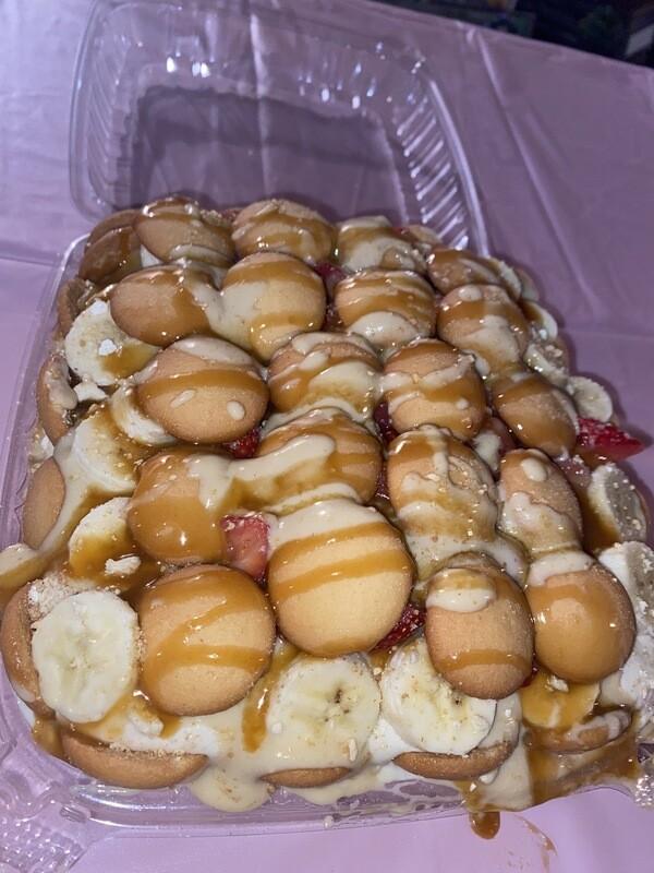 Strawberry Banana Pudding Cheesecake