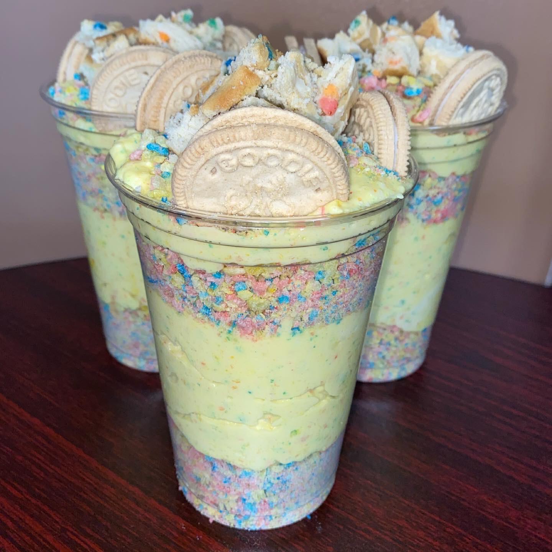 Birthday Cake Cheesecake Cup