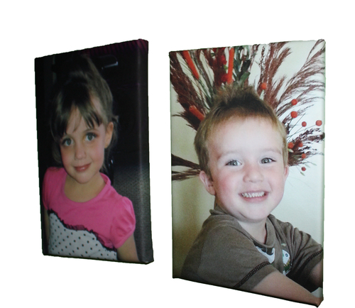 400 x 400mm Cotton Photo Canvas Blocked on 40mm Frame