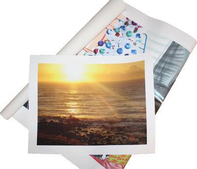 300 x 300mm Loose Cotton Photo Canvas Square Print
