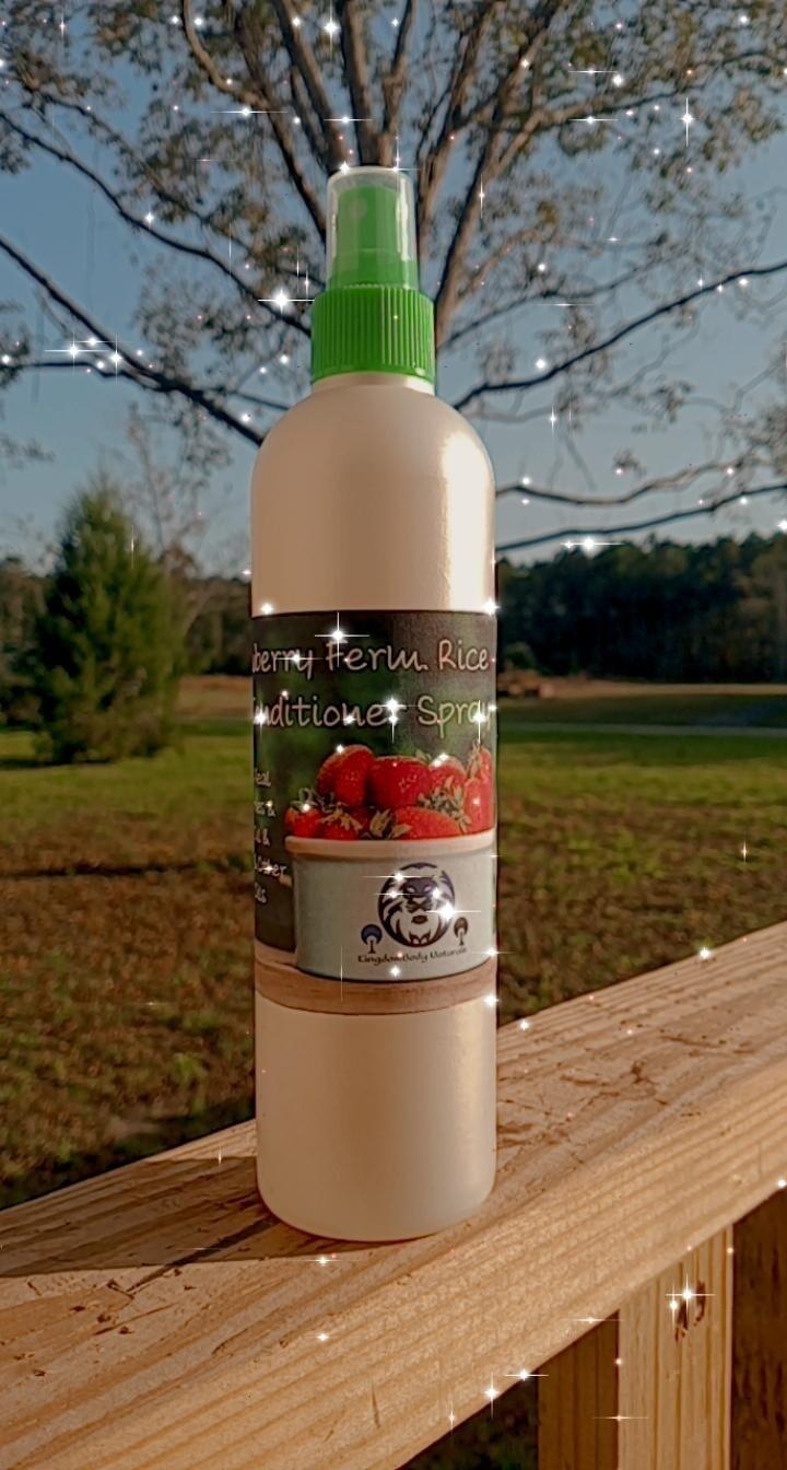 Organic Fermented Herbal Strawberry Rice Milk (12oz)