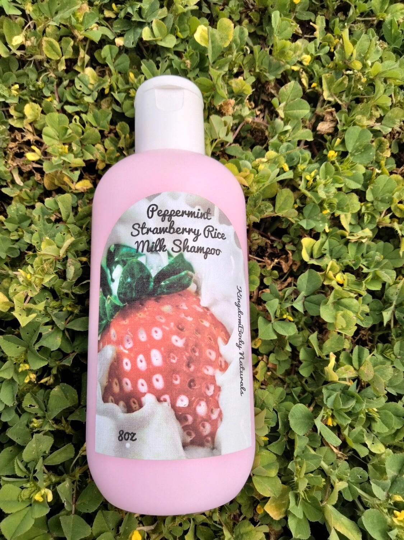 Strawberry Cream Rice Milk Shampoo