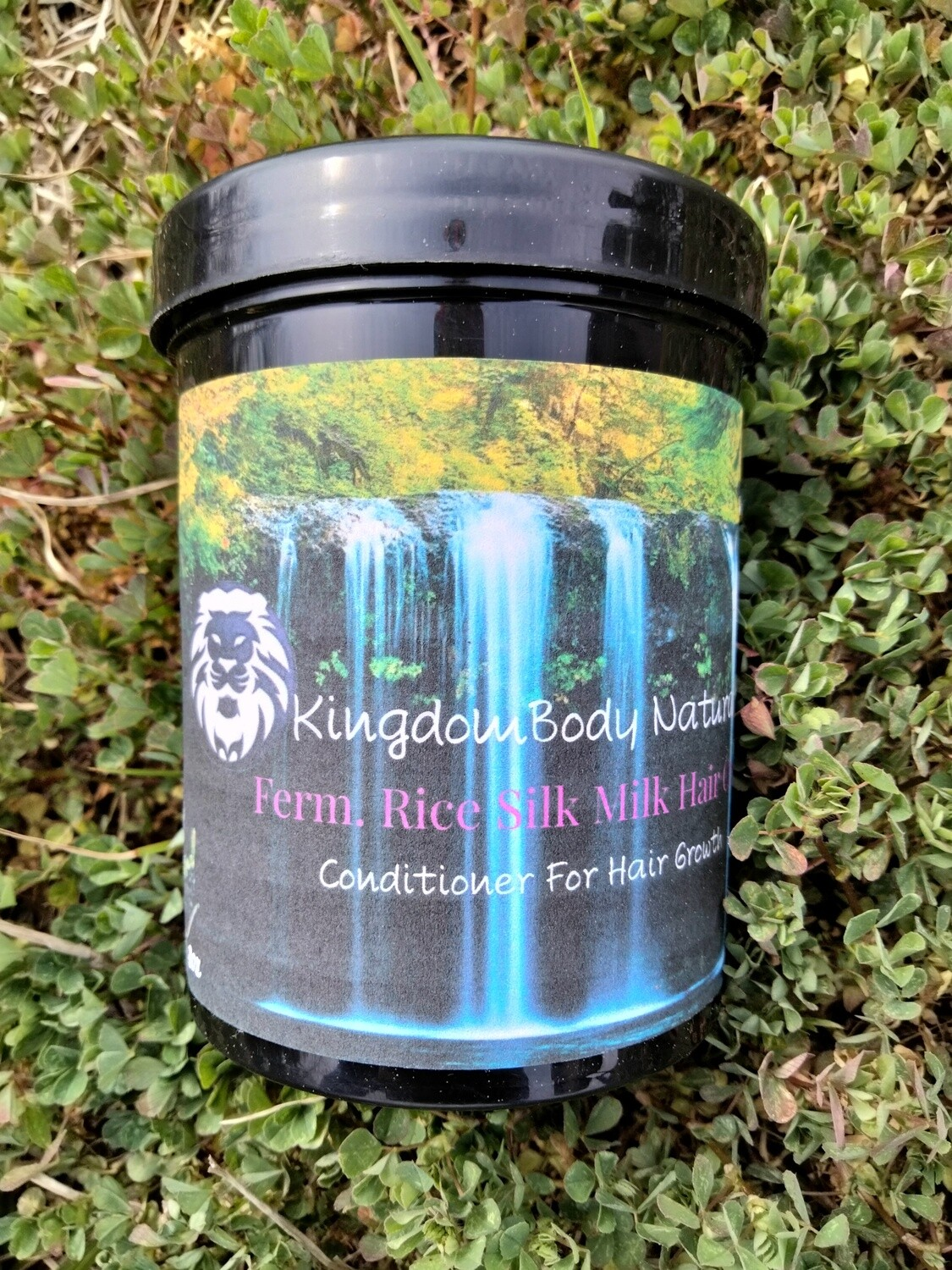 Organic Fermented Rice Milk Hair Mask Conditioner Peppermint or Lavender