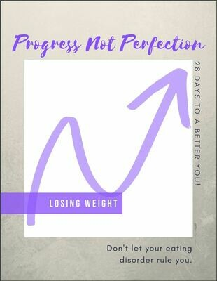 Eating Disorder Recovery Journal Losing Weight
