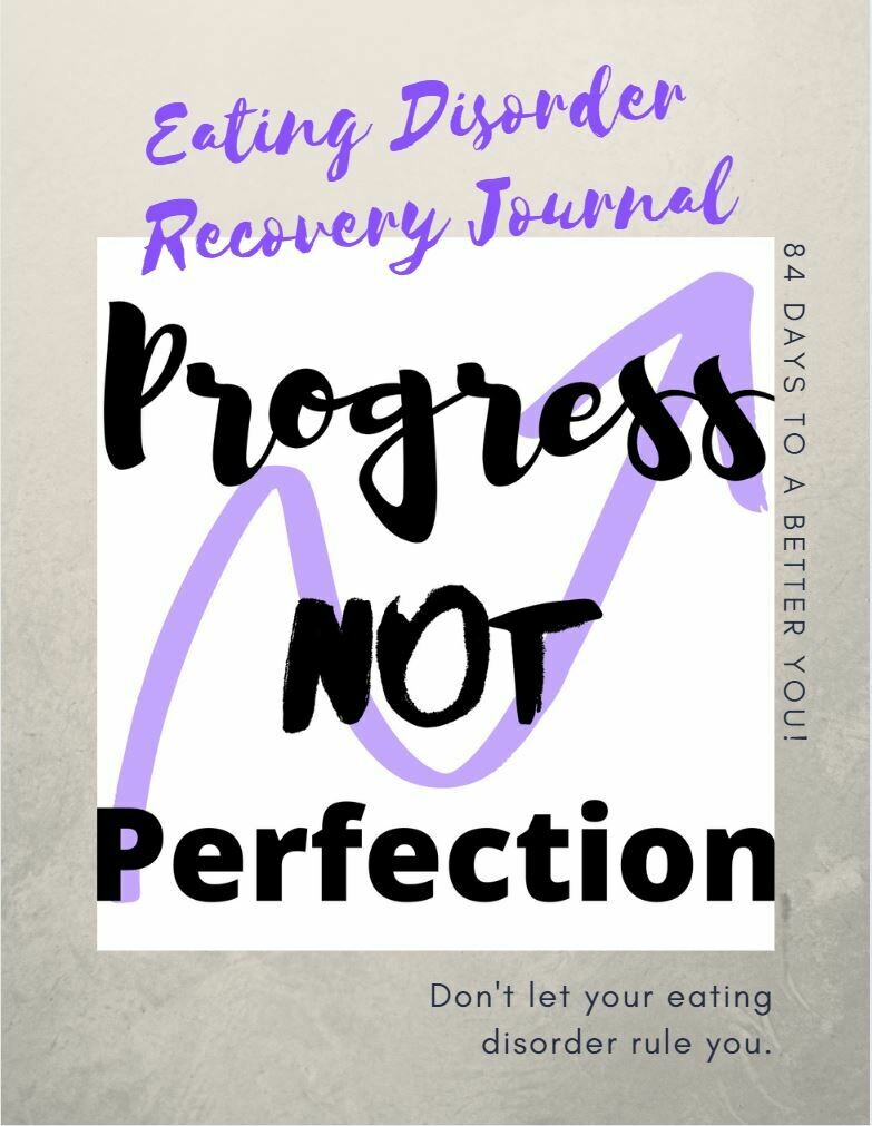 Eating Disorder Recovery Journal All Parts