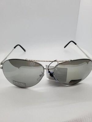 Gray Aviator Sunclasses Unisex